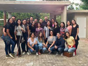 Visita de estudiantes del curso Desarrollo Humano y la Rehabilitación de las Personas con Deficiencias en el Desarrollo a la Fundación Modesto Gotay